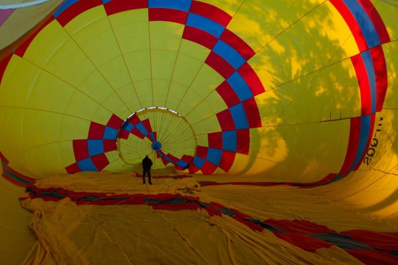 Inside the Balloon by Andrew Leece